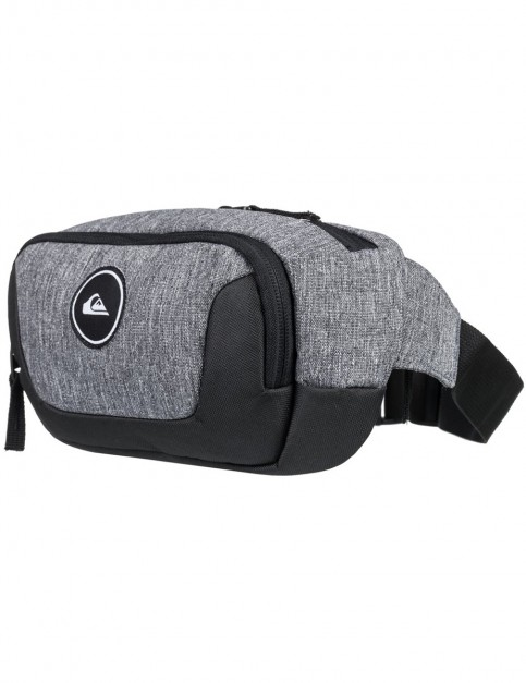 Quiksilver Jungler Bum Bag in Light Grey Heather