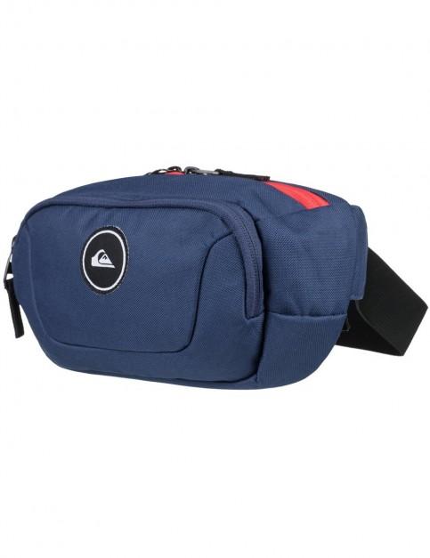 Quiksilver Jungler Bum Bag in Medieval Blue