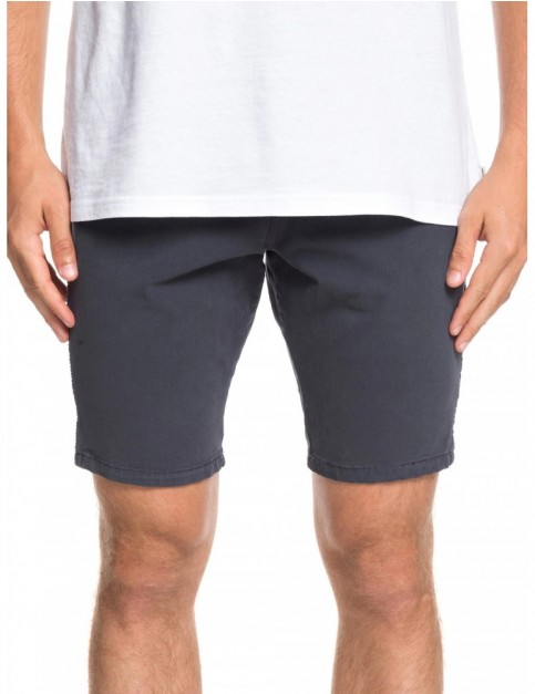 Quiksilver Krandy 5 Pocket Chino Shorts in Blue Nights
