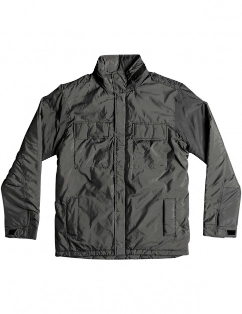 Quiksilver Last Out Jacket in Dark Shadow