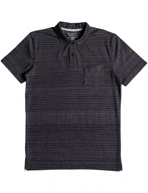 Quiksilver Michi Point Polo Shirt in Tarmac Heather