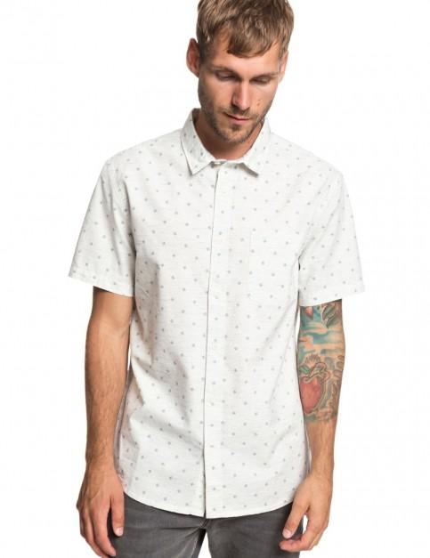 Quiksilver Mini Fins Short Sleeve Shirt in GARDENIAMINIFINSSS