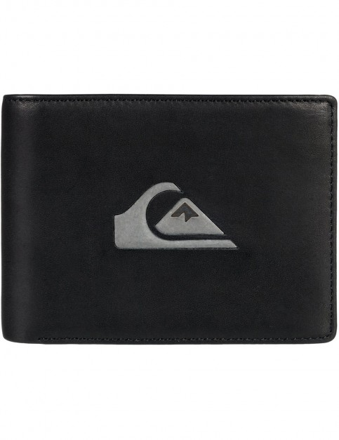 Quiksilver Miss Dollar Leather Wallet in Black