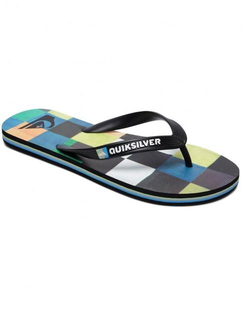 Quiksilver Molokai Resin Check Flip Flops