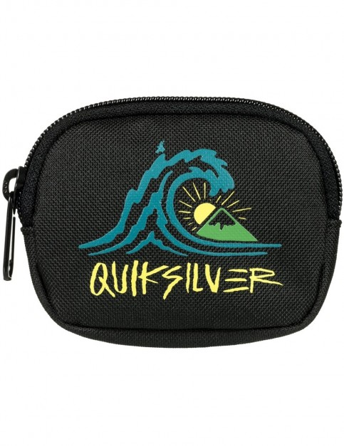 Quiksilver MONEDERO Polyester Wallet in Black