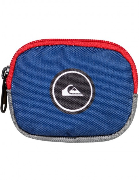 Quiksilver Monedero Polyester Wallet in Medieval Blue