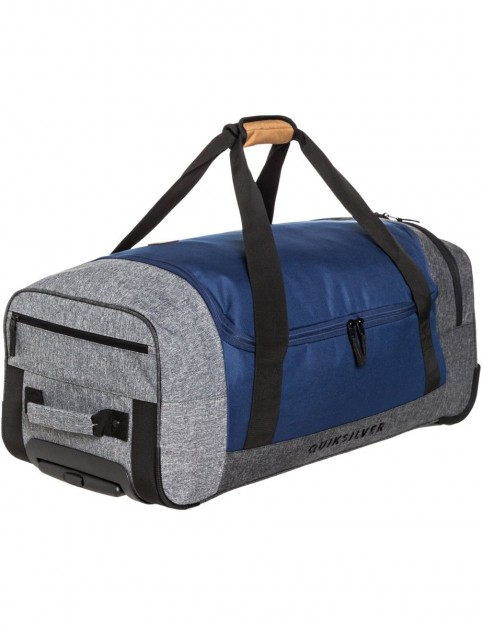 Quiksilver New Centurion Wheeled Luggage in Medieval Blue Heather
