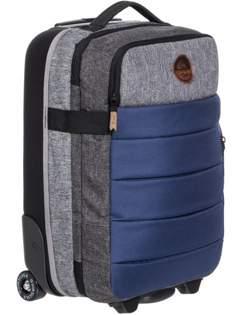 Quiksilver New Horizon Hand Luggage in Medieval Blue Heather