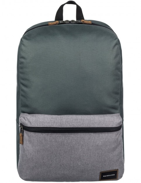 Quiksilver Night Track Plus Backpack in Medium Grey Heather