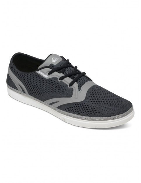 Grey Grey White Quiksilver Oceanside Trainers