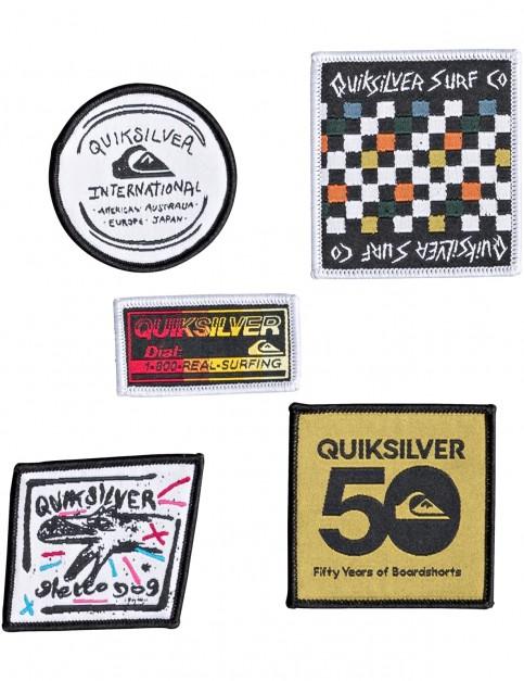 Quiksilver Patch Pack Fun Stuff in Black