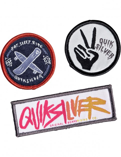 Quiksilver Patches Fun Stuff in Multi Colour