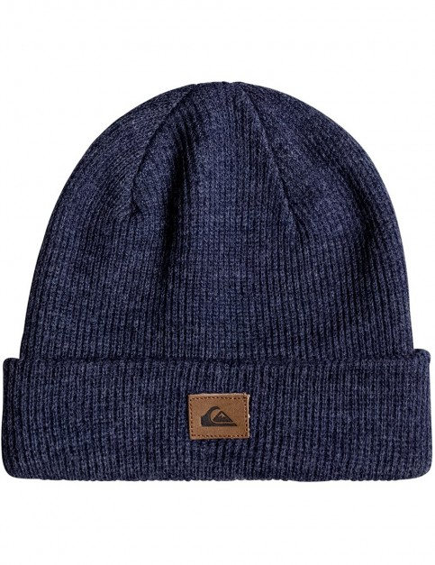 Quiksilver Performed Beanie in Navy Blazer Heather