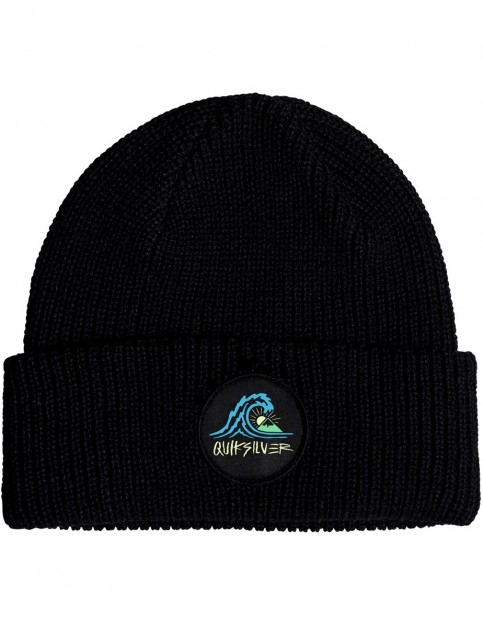 Quiksilver Performed Patch II Beanie in Black