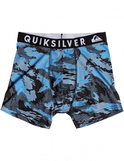 Quiksilver Poster Boxer Underwear in Navy Blazer