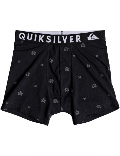 Quiksilver Poster Boxer Underwear in Quiet Shade