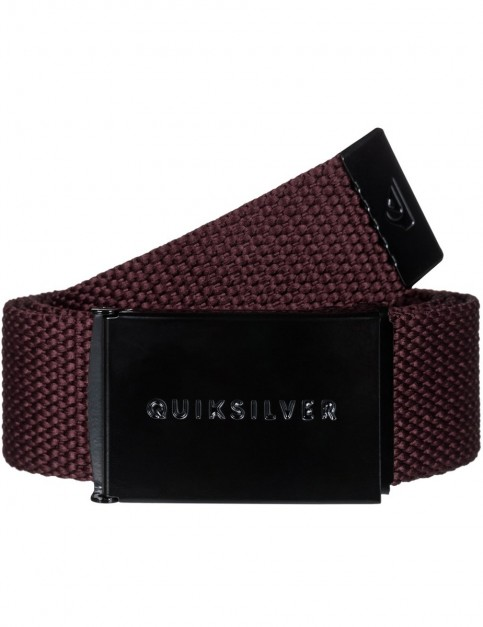 Quiksilver Principle III Belt in Vineyard Wine