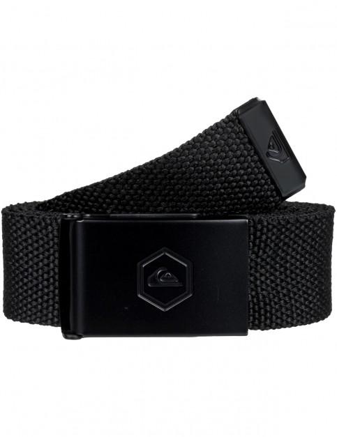 Quiksilver Principle III Webbing Belt in Black
