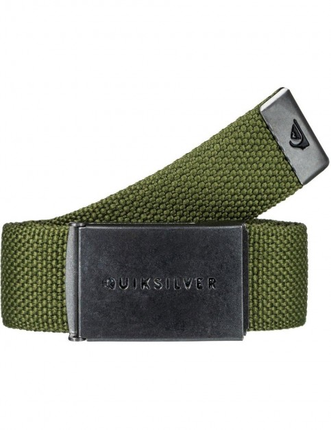 Quiksilver Principle III Webbing Belt in Rifle Green