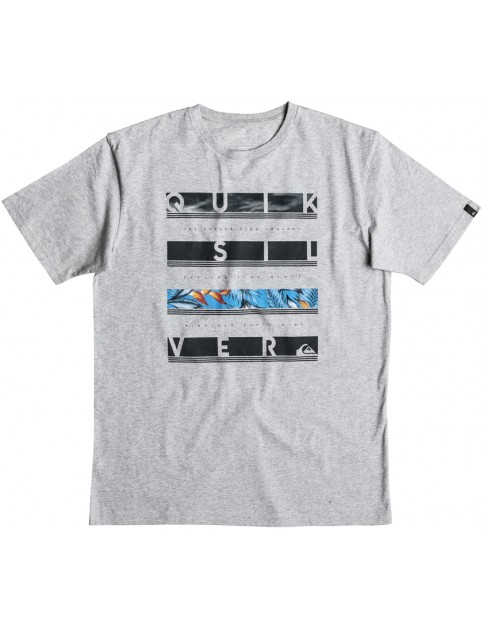 Quiksilver Read Between Short Sleeve T-Shirt in Athletic Heather