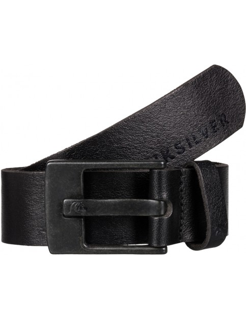 Quiksilver Revival Leather Belt in Black
