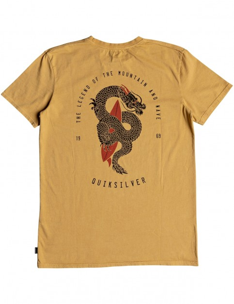 Quiksilver Rising Giant Short Sleeve T-Shirt in Taffy