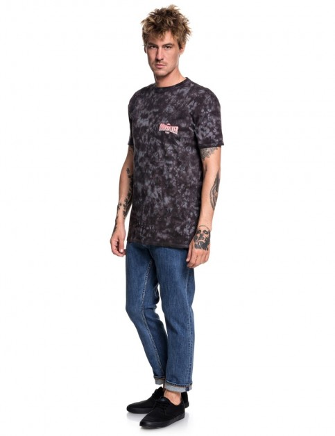 Quiksilver Rockin Rails Short Sleeve T-Shirt in Tarmac