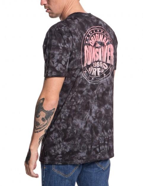 Quiksilver Rockin Rails Short Sleeve T-Shirt in Tarmac