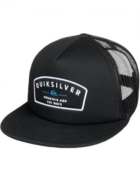 Quiksilver Sass Master Cap in Black