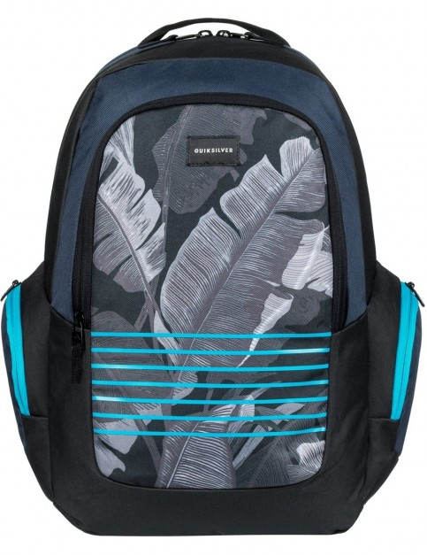 Quiksilver Schoolie Backpack in Blue Nights