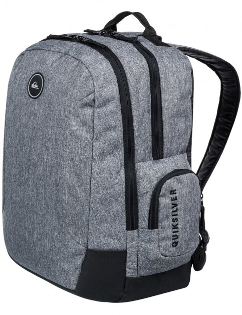 Quiksilver Schoolie Backpack in Light Grey Heather