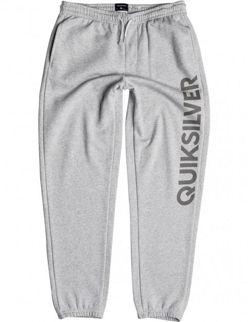 Light Grey Heather Quiksilver Screen Sweat Pants