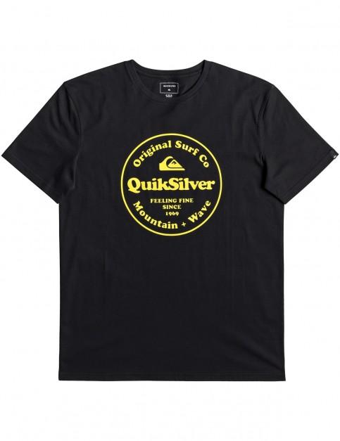 Quiksilver Secret Ingredient Short Sleeve T-Shirt in Black