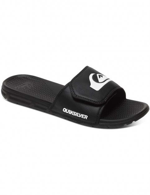 Quiksilver Shoreline Adjust Sports Sandals in Black/Black/White