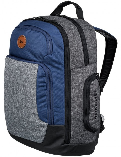 Quiksilver Shutter Backpack in Medieval Blue Heather