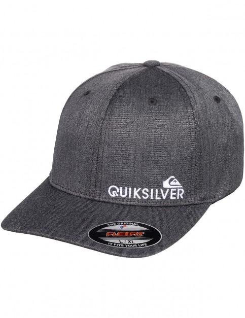 Quiksilver Sidestay Cap in Black heather