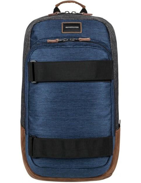 Quiksilver Skate Pack Skate Backpack in Medieval Blue