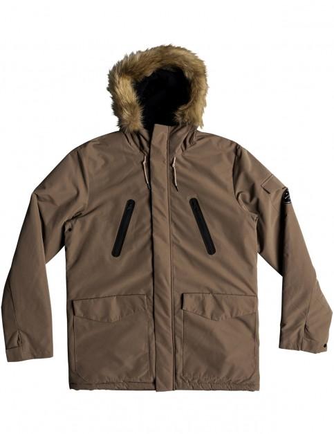 Quiksilver Storm Drop Athletic Parka Jacket in Falcon