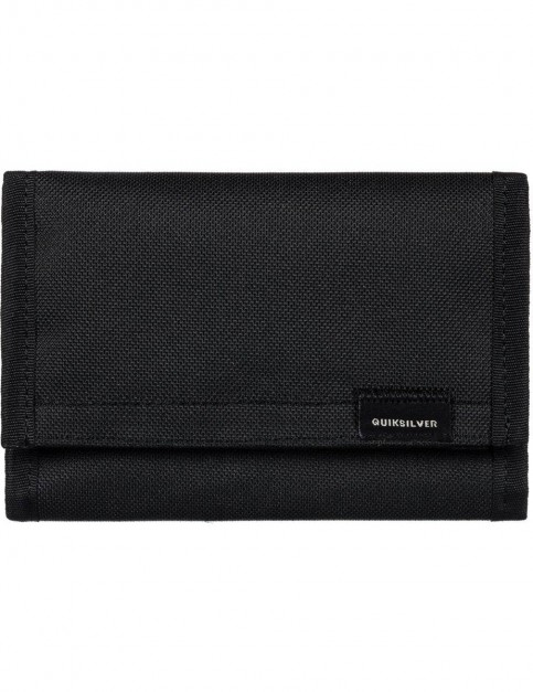 Quiksilver The Everydaily Polyester Wallet in Black