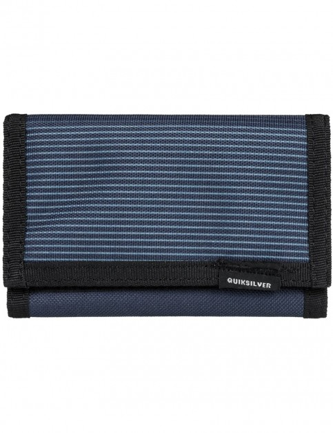 Quiksilver The Everydaily Polyester Wallet in Blue Nights