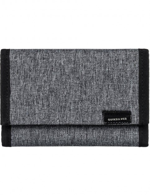 Quiksilver The Everydaily Polyester Wallet in Light Grey Heather