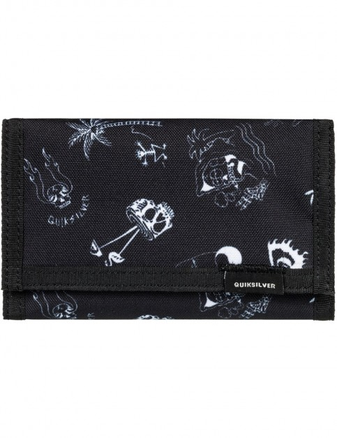 Quiksilver The Everydaily Polyester Wallet in True Black