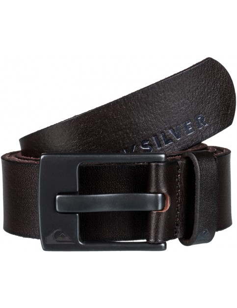Quiksilver The Everyday Leather Belt in Demitasse