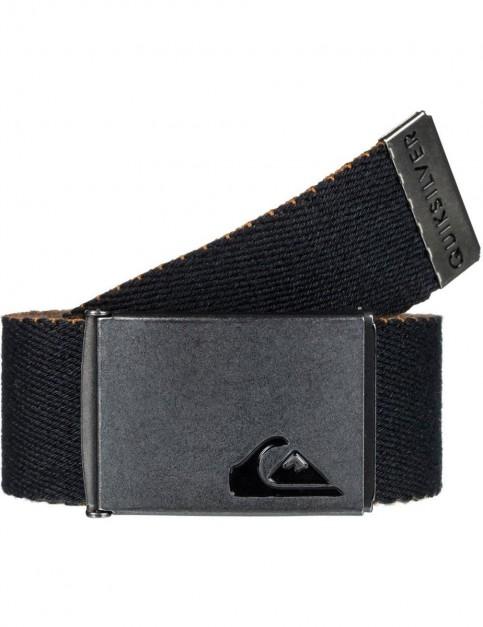 Quiksilver The Jam 4 Webbing Belt in Black