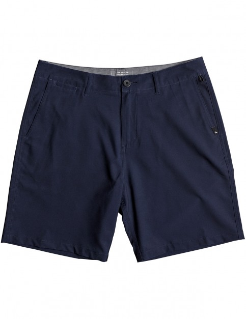 Quiksilver Union 19 Shorts in Navy Blazer