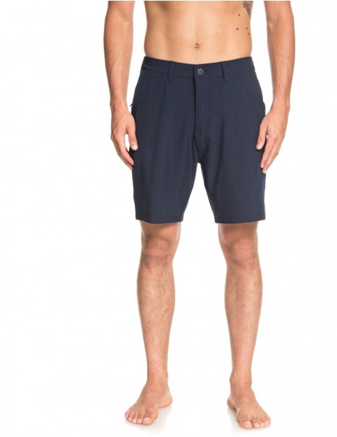 Quiksilver Union Amphibian 19 Swimming Trunks in Navy Blazer