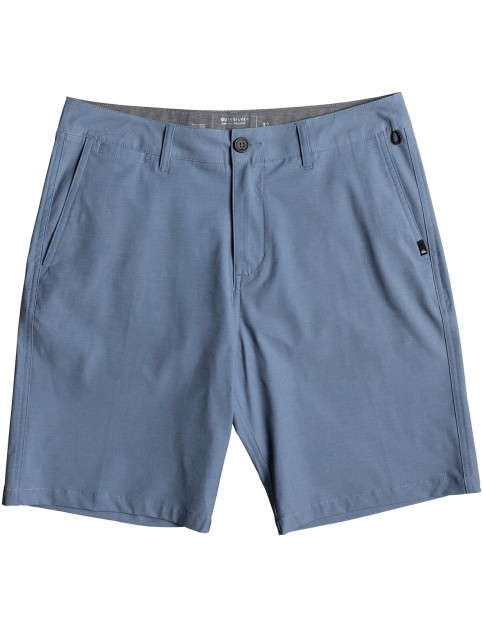 Quiksilver Union Heather 20 inch Shorts in Real Teal