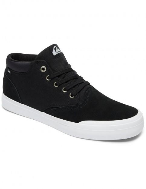 Quiksilver Verant Mid Boots in Black/Black/White