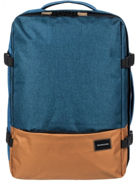 Quiksilver Versatyl Backpack in Blue Nights Heather