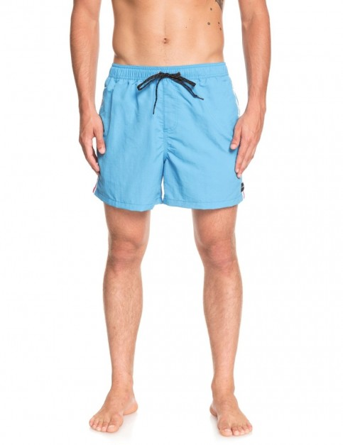 Quiksilver Vibes Volley 16 Elasticated Boardshorts in Malibu Blue